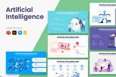 Artificial Intelligence Infographic Templates