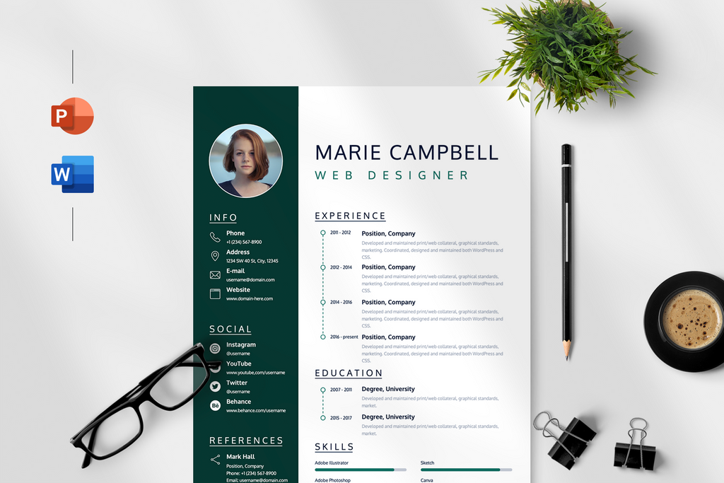 Aurora - Resume Template