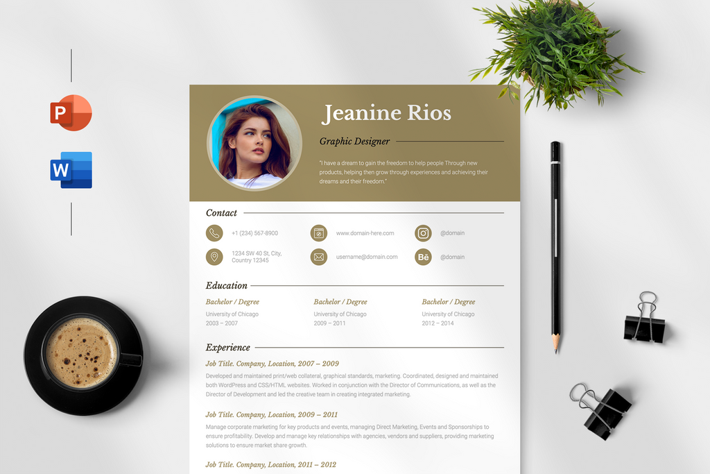 Chloe - Resume Template