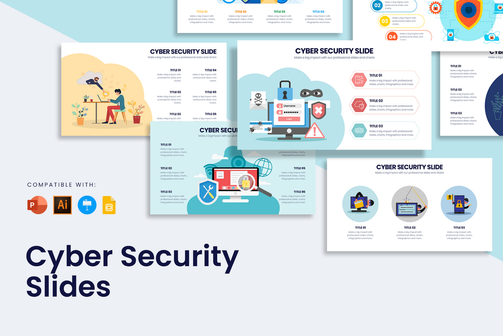 Cybersecurity Infographic Templates