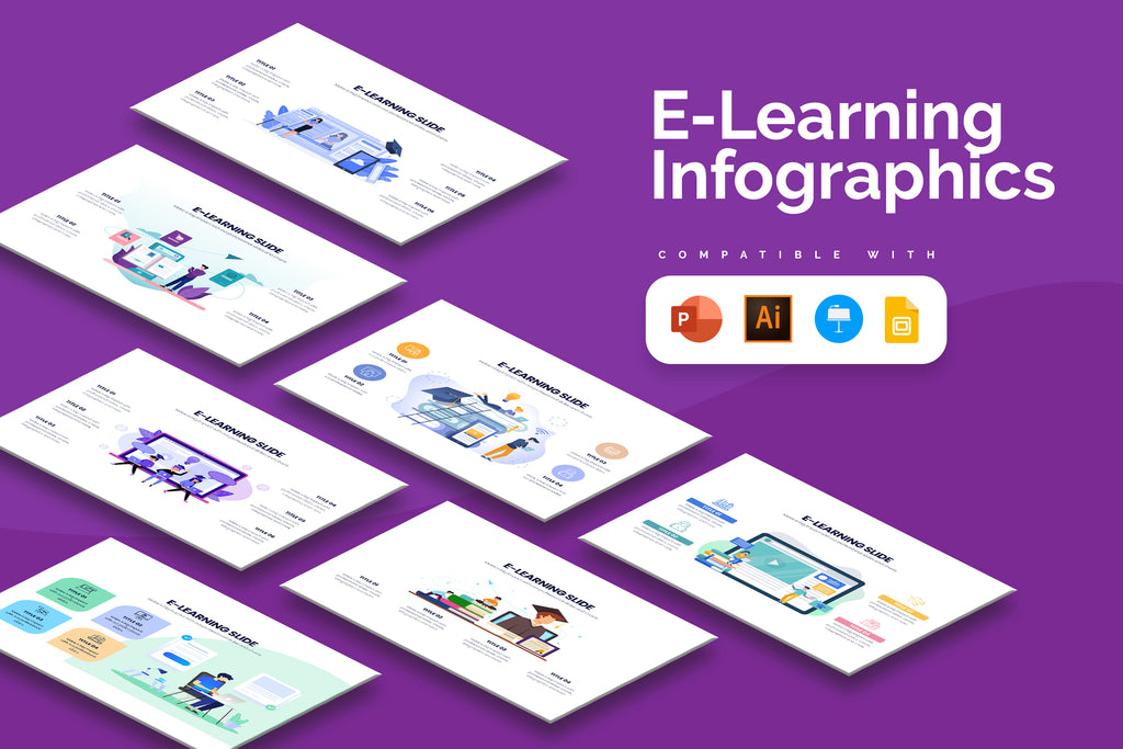 E Learning Infographics