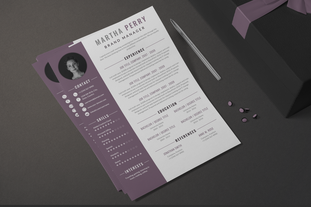 Kelly - Resume Template