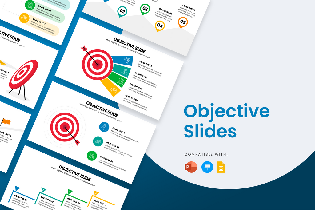 Objective Slides for PowerPoint, Keynote and Google Slides