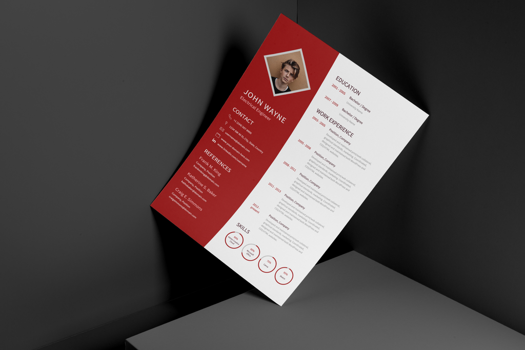 Oliver - Resume Template
