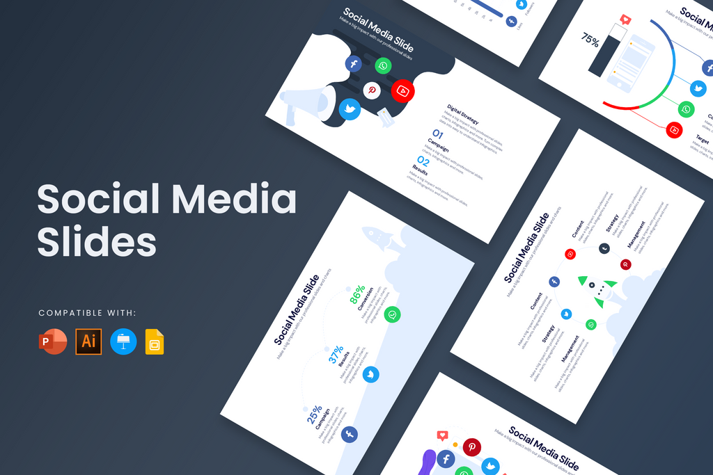 Social Media Infographic Templates