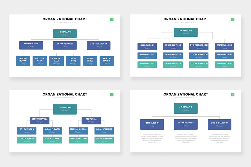 Org Chart Infographics