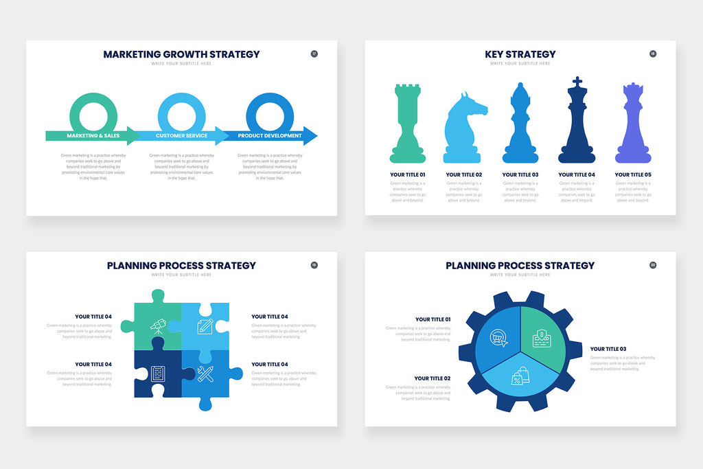 Strategy  Infographics