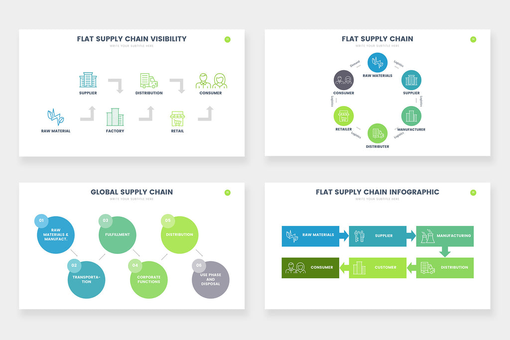 Supply Chain Infographics