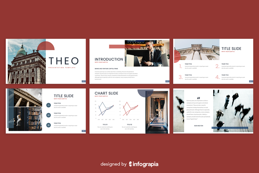 Theo Powerpoint Template