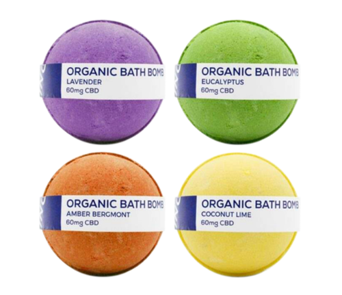CBD LIVING BATH BOMB 100mg
