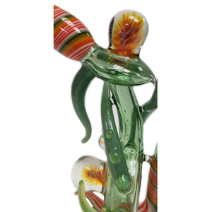 Lay Z Glass Dab Rig w/Flower Bowl