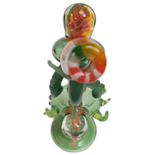 Load image into Gallery viewer, Lay Z Glass Dab Rig w/Flower Bowl