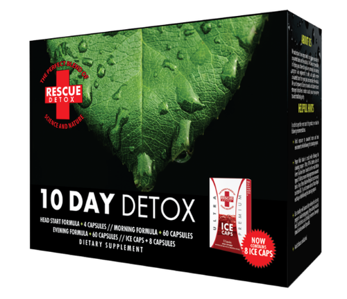 RESCUE DETOX - 10 DAY PERMANENT KIT