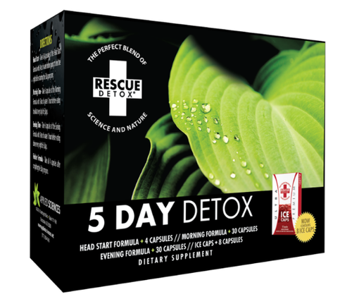 RESCUE DETOX 5 DAY PERMANENT KIT