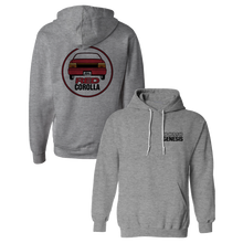 Load image into Gallery viewer, Red Corolla Grey Hoodie