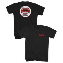 Load image into Gallery viewer, Red Corolla Black Tee