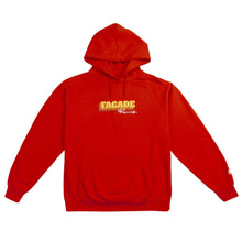 Load image into Gallery viewer, Facade Hoodie (Red)-Domo Genesis