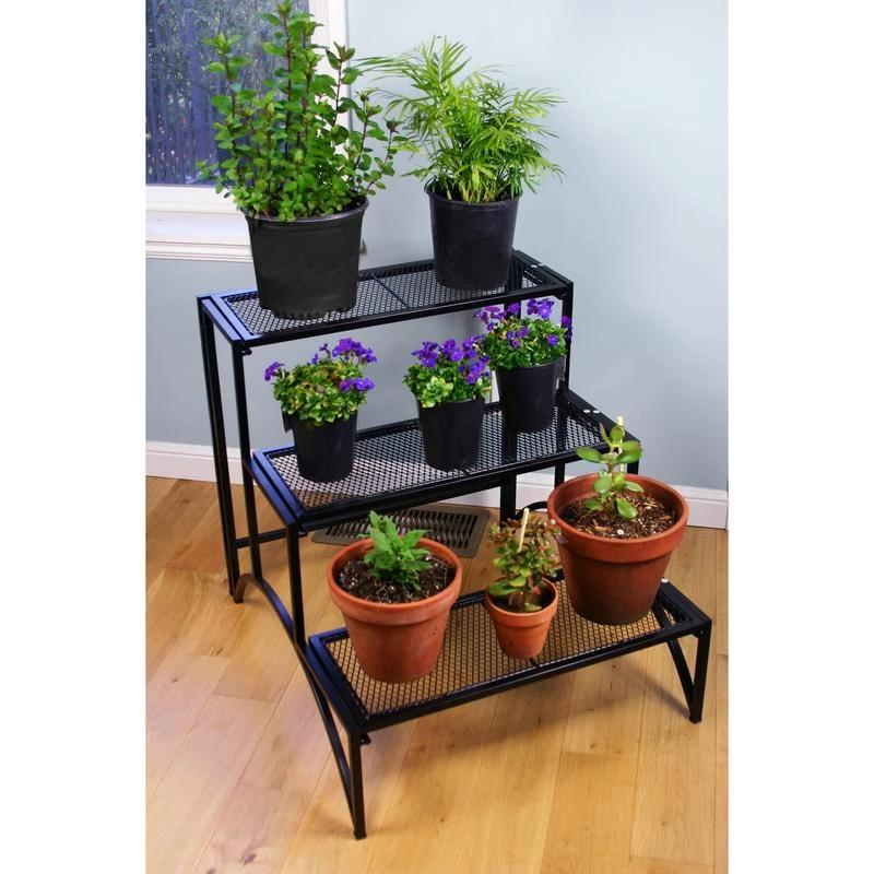 Rectangular 3 Layer Plant Stand