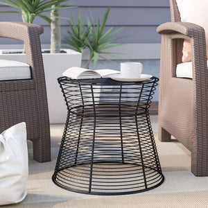 Metal Wire Side Table