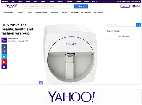 Yahoo Finance: Five of the Most Memorable Items At CES 2017.