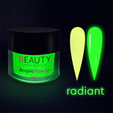 ACRYLIC POWDER - GLOW IN THE DARK RADIANT