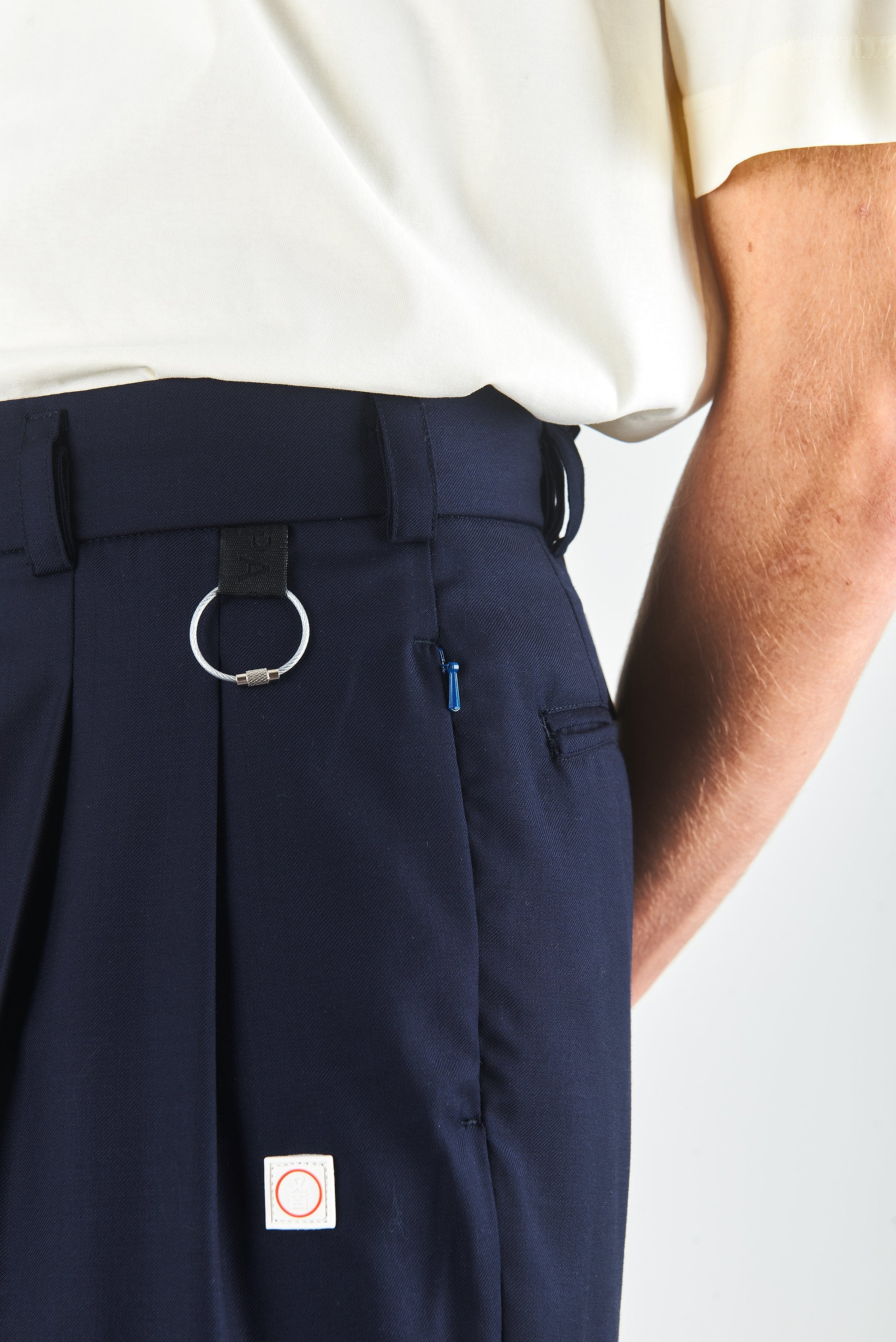 LAPO TROUSERS NAVY