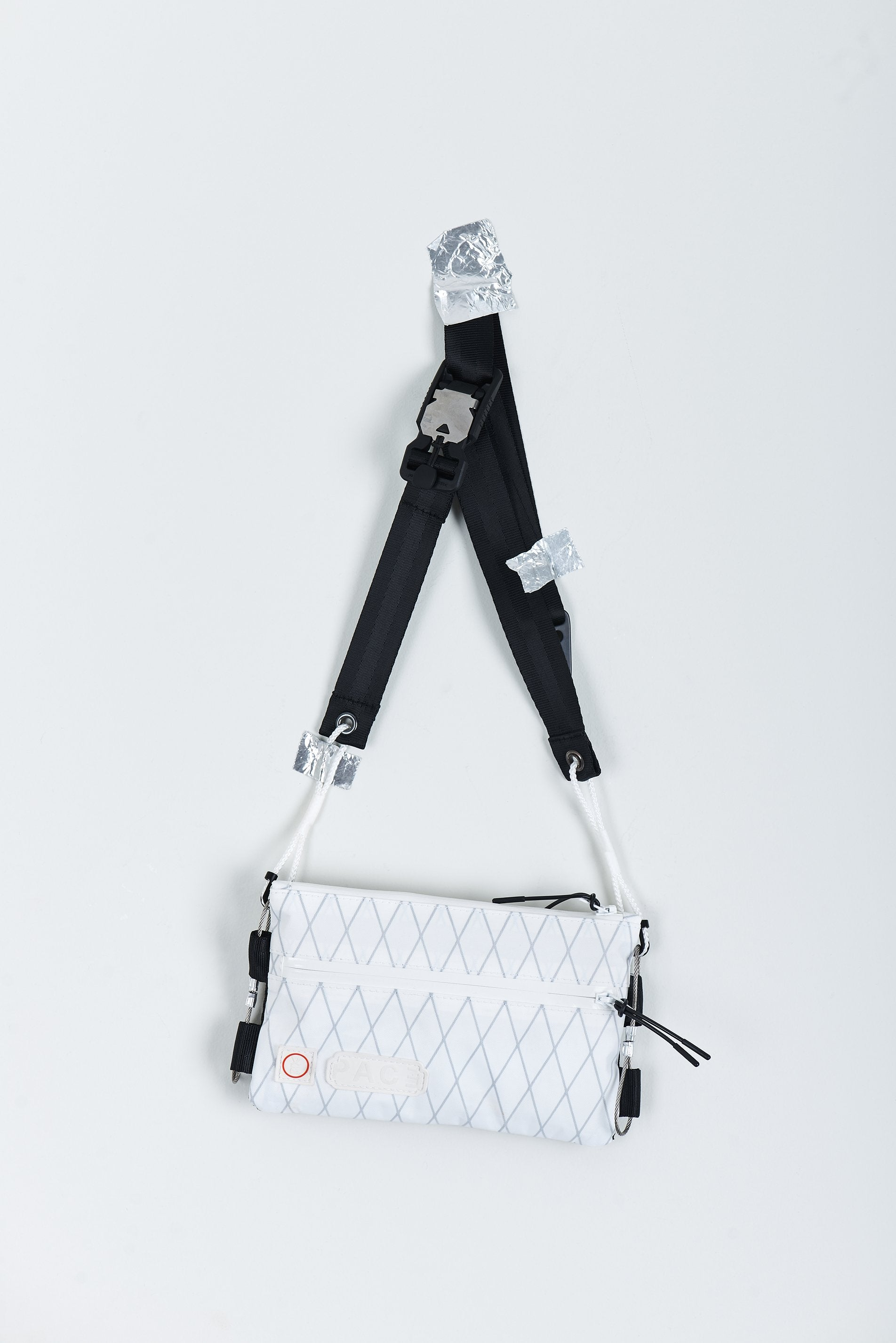MINI SACOCHE WHITE XPAC® BAG