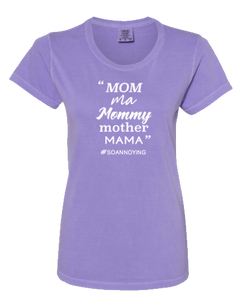 Mom ma Mommy mother MAMA Short Sleeve