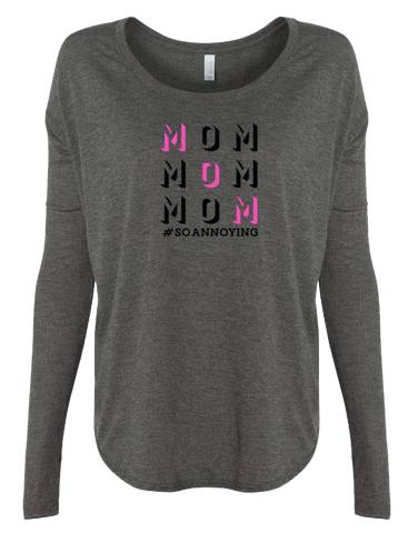 MOM MOM MOM Long Sleeve