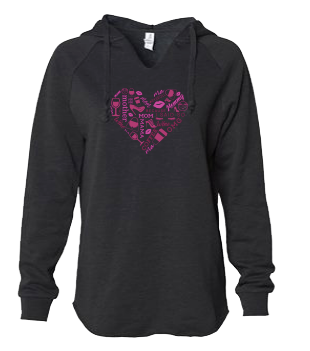 Heart Collage Sweatshirt