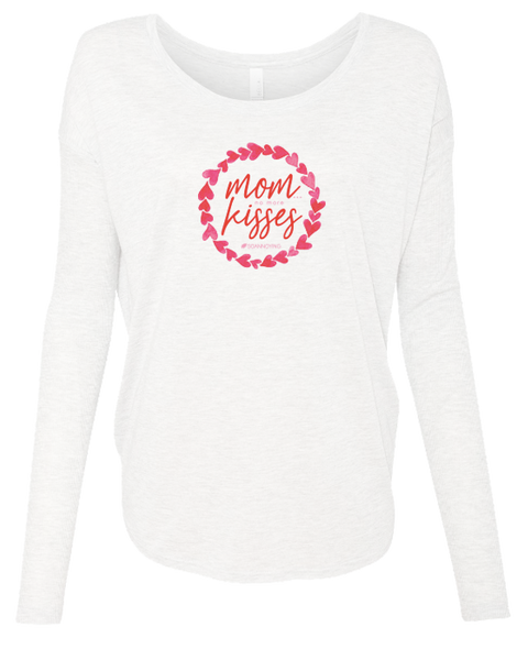 Mom no more Kisses Long Sleeve