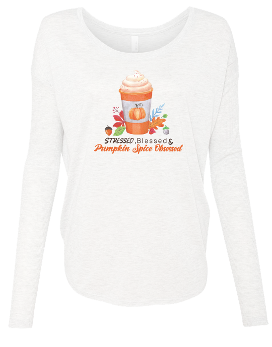 Pumpkin Spice Obsessed Long Sleeve