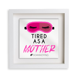Tire as a Mother Frame Decor