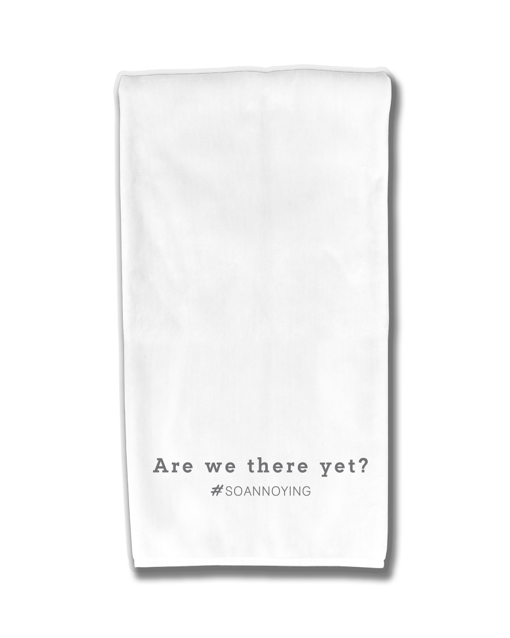 Are We There Yet Kitchen Towel