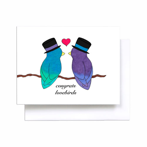 Wedding Lovebirds - Gay Couple