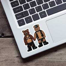 Load image into Gallery viewer, Leather Teddies Vinyl Sticker