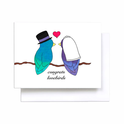 Wedding Lovebirds - Straight Couple