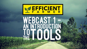 Webcast 1 - An Introduction to the Tools