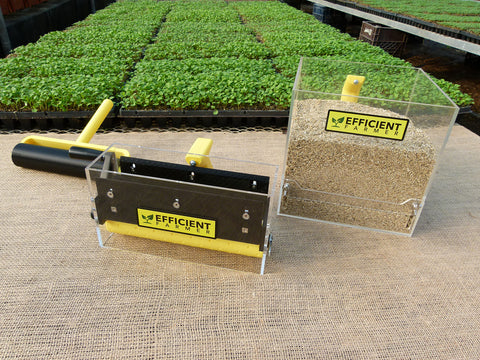 Professional Microgreen Seeder and Topcoat Kit