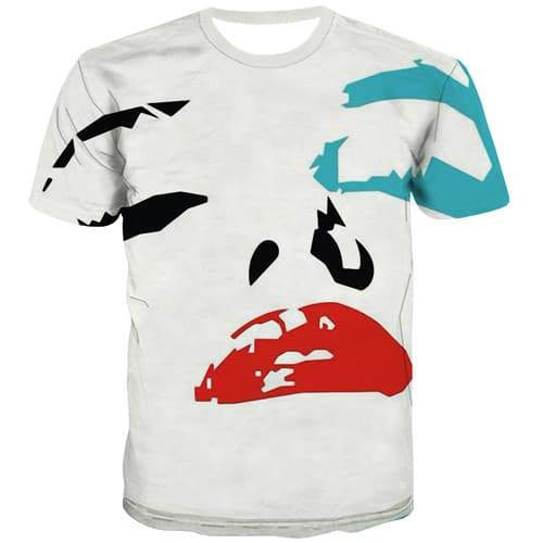 Graffiti T shirts Men White Tshirts Casual Art Tshirts Cool Harajuku Shirt Print Short Sleeve Fashion Men S-5XL Male Sport - KYKU