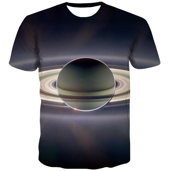 Galaxy T shirts Men Planet Tshirt Anime Starry Sky T shirts Funny Colorful Tshirts Casual Harajuku T-shirts 3d