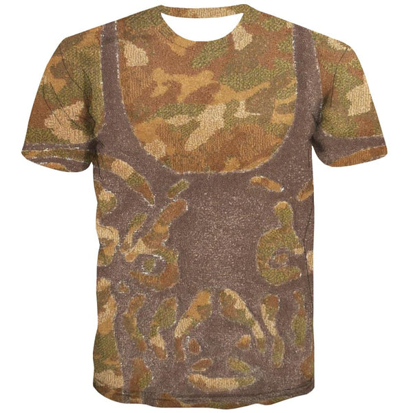 Hunting T-shirt Men Jungle Tshirt Printed Deer T-shirts 3d Shooter Tshirts Casual Camouflage Tshirts Cool