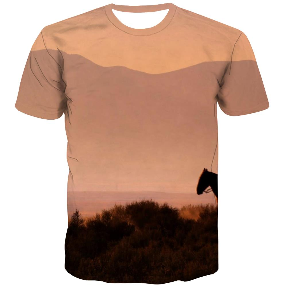 Borse T shirts Men Competition T-shirts Graphic Raced Tshirts Cool Equestrian Tshirt Printed