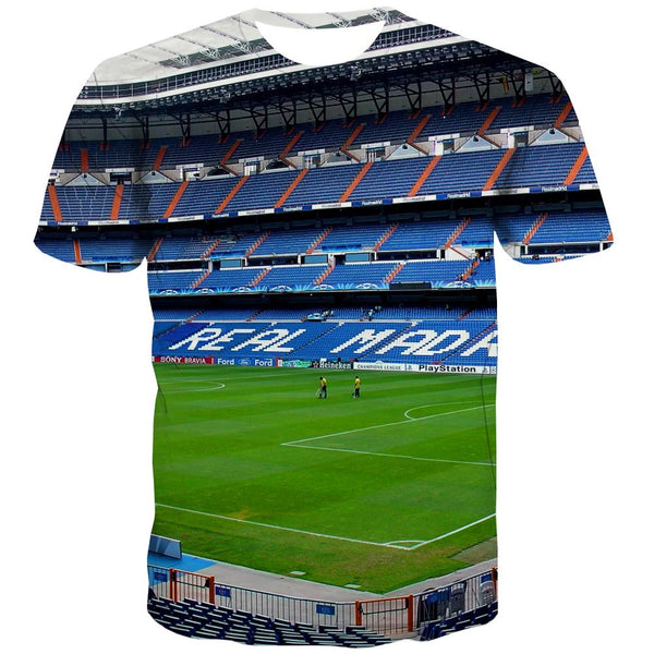 Lawn T-shirt Men Football Tshirt Anime Athletics Shirt Print Stadium T-shirts 3d