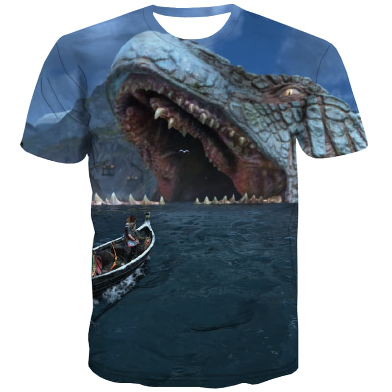 War T-shirt Men Animal Tshirt Anime Sea T-shirts 3d Military Tshirts Novelty