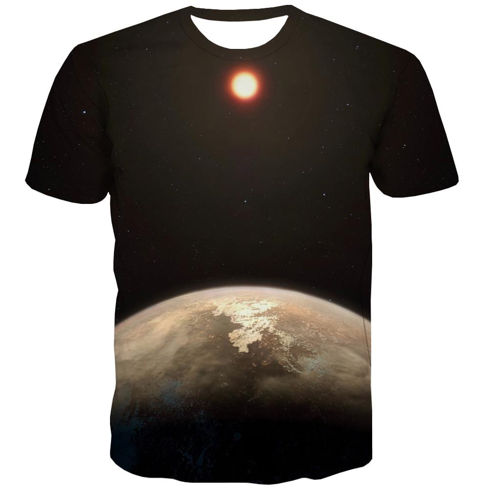 Galaxy T shirts Men Planet Tshirt Printed Starry Sky T-shirts 3d Colorful T shirts Funny Harajuku Tshirts Cool