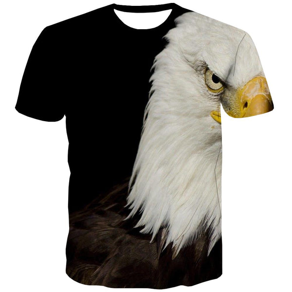 USA T shirts Men Animal Tshirt Printed Raptor Tshirts Casual Fly T shirts Funny Eagle T-shirts 3d