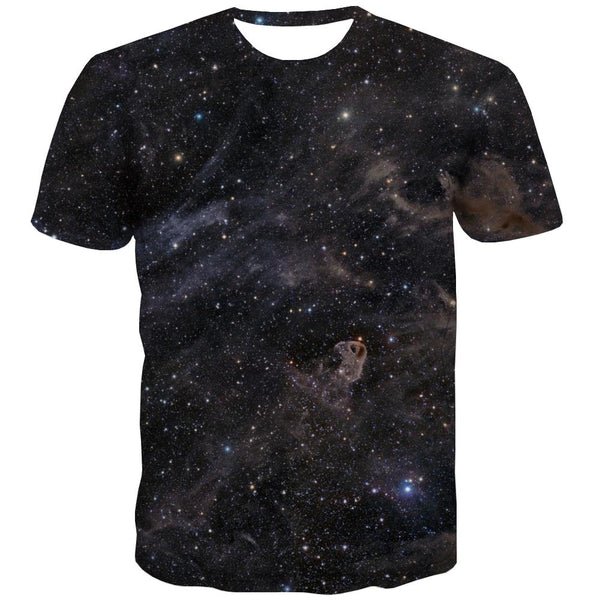 Galaxy T shirts Men Planet T shirts Funny Starry Sky Tshirt Anime Colorful Shirt Print Harajuku T-shirts Graphic