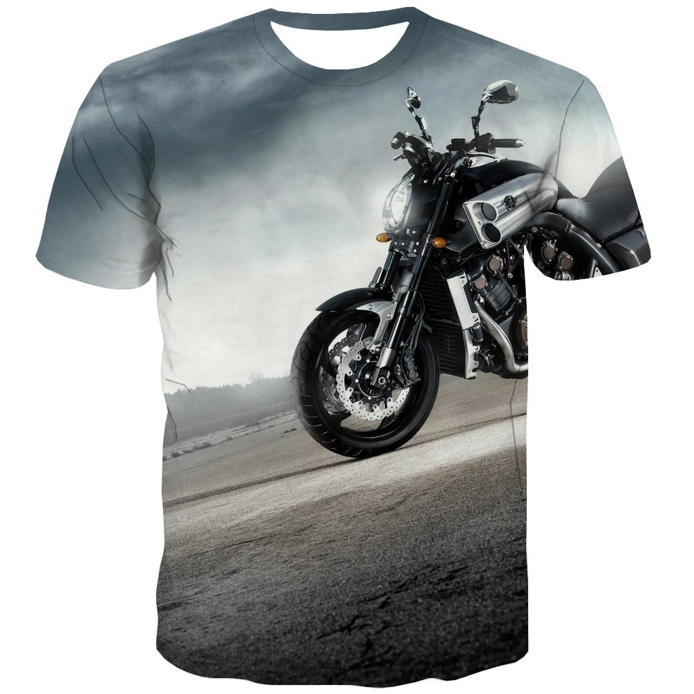 Bicycle T-shirt Men Metal T-shirts Graphic City Tshirt Anime Psychedelic Tshirts Novelty