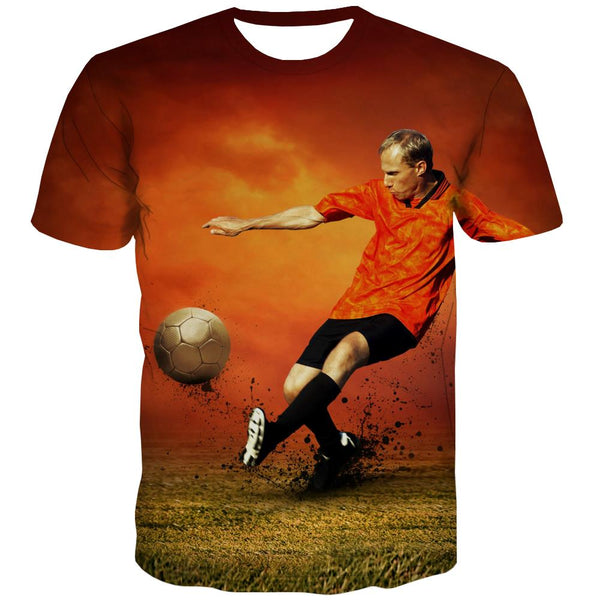 Lawn T shirts Men Football T-shirts Graphic Athletics Tshirts Cool Stadium T shirts Funny